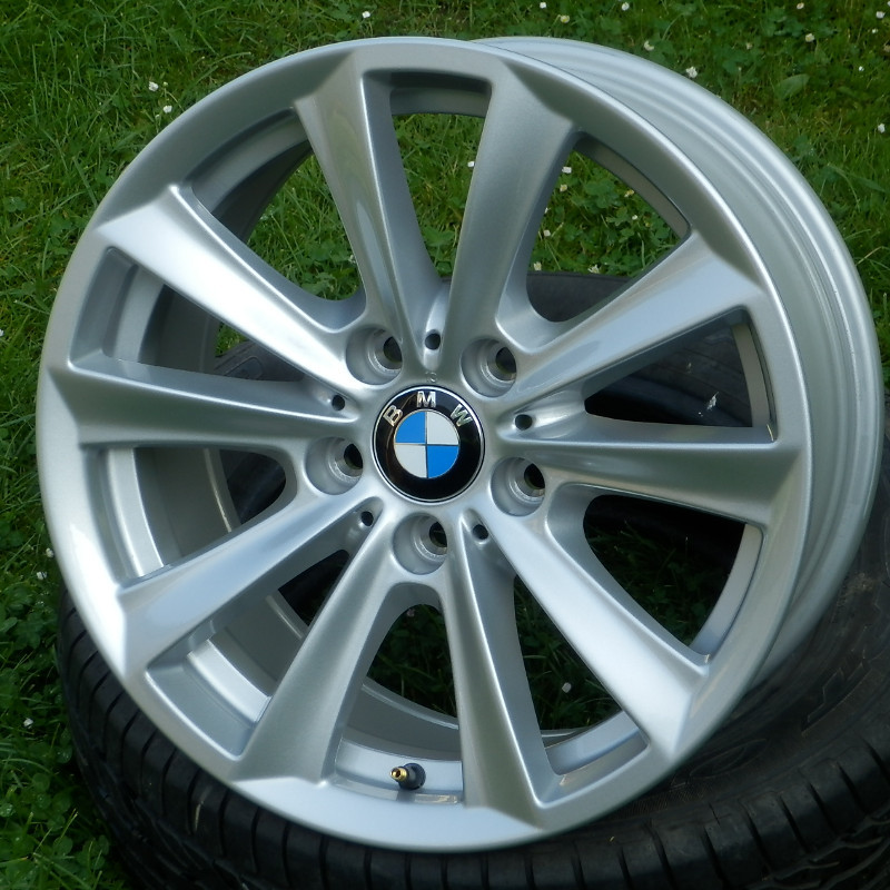 BMW STYLE 236 ( original BMW ) DEMO 8x17 5x120 ET30.00 silver