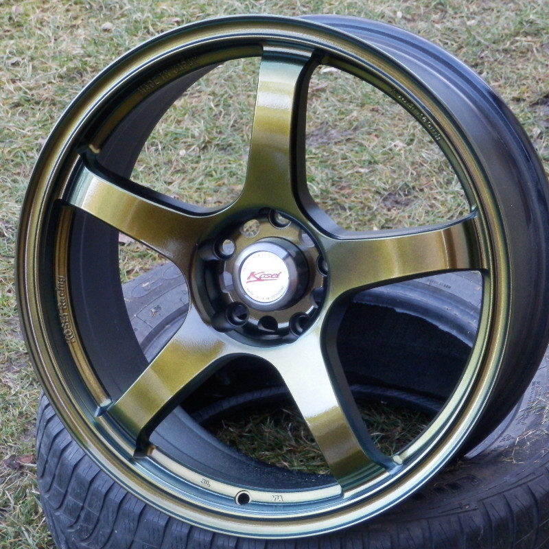 KOSEI K3 GOLD chameleon 7,5x18 5x112 ET35.00 gold