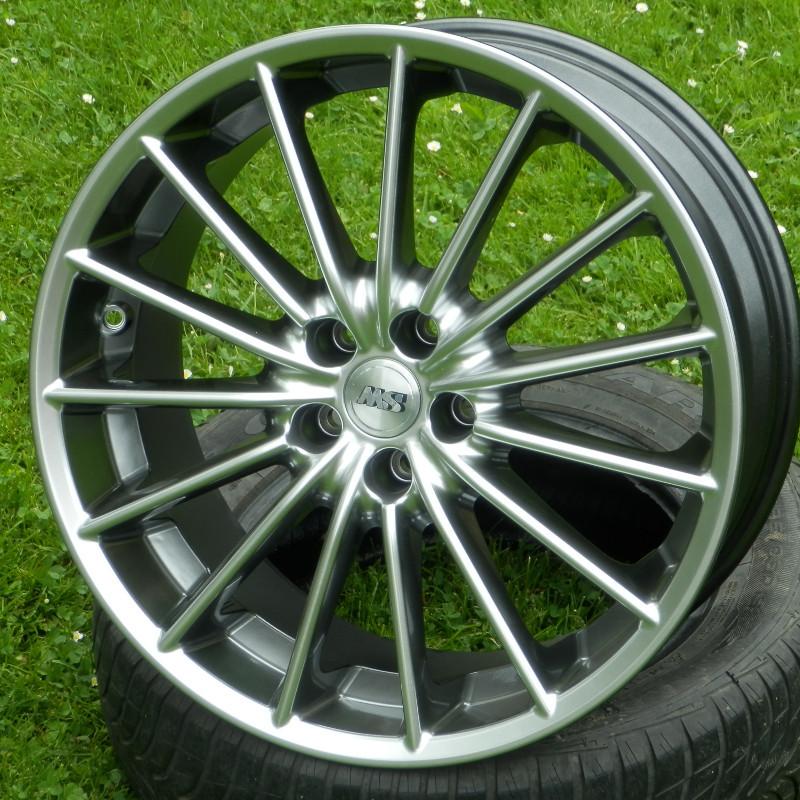RVS MS18 9x20 5x112 ET45.00 hyper silver