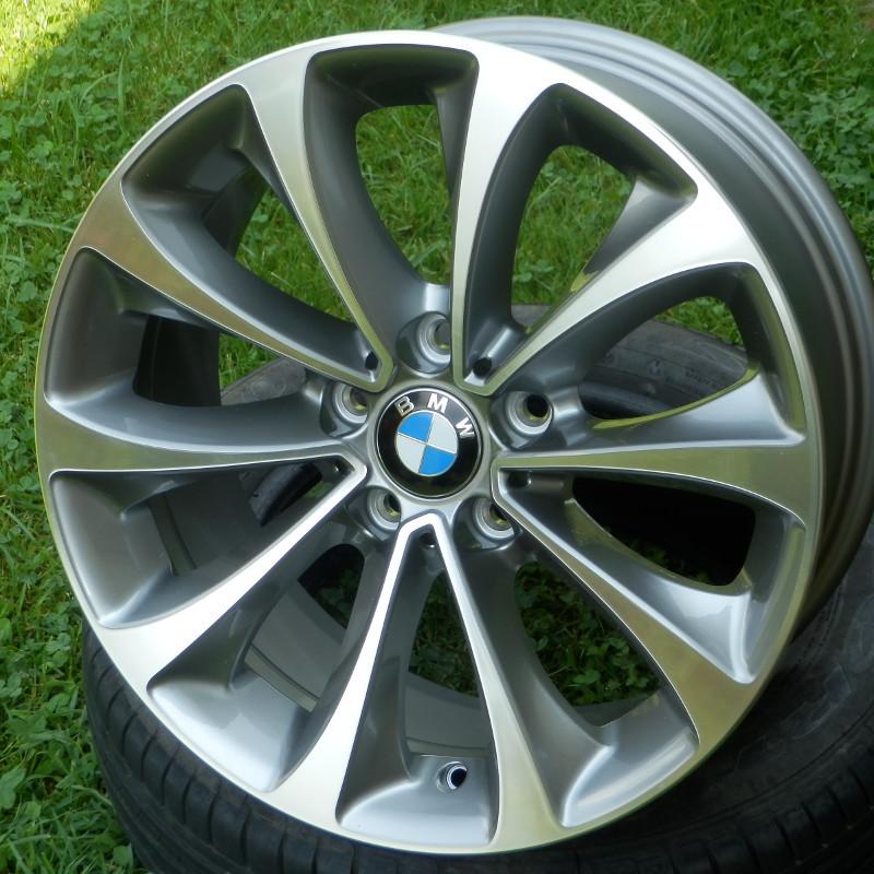 BMW style 452 ( original BMW ) DEMO 8x18 5x120 ET30.00 antracit + leštěný