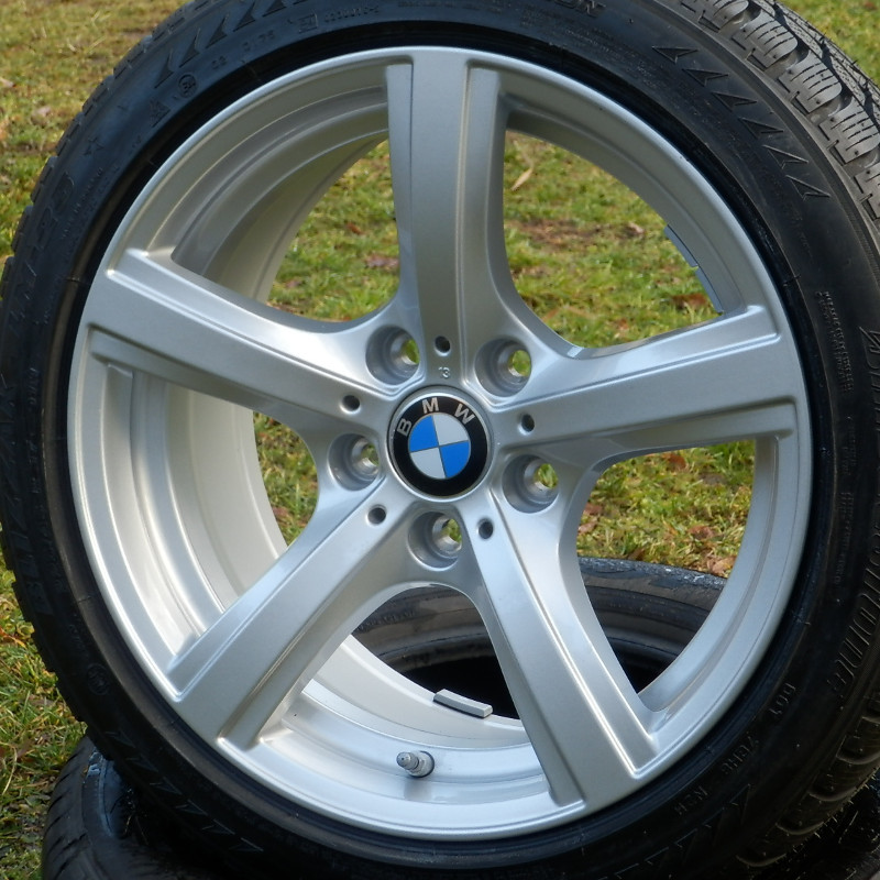 BMW STYLE 290 ( original BMW ) DEMO 8x17 5x120 ET29.00 silver