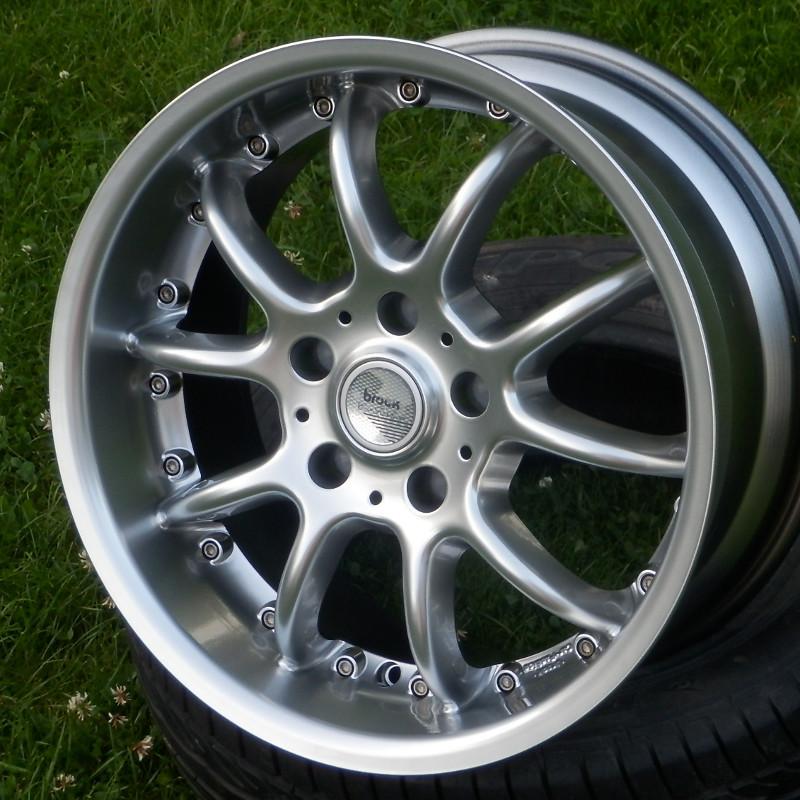 RC DESIGN B6 css 8,5x17 5x120 ET35.00 hyper silver