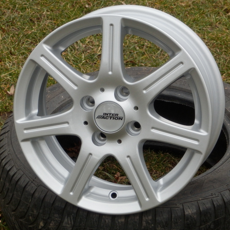 INTER ACTION SIRIUS 5,5x14 4x100 ET35.00 silver