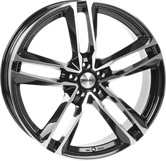 MONACO MC7 10x22 5x112 ET30.00 gloss black / polished