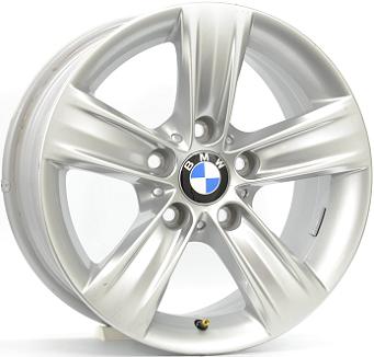 BMW STYLE 391 ( original BMW ) 7,5x16 5x120 ET37.00 silver