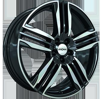 RONAL 10,0X22 RONAL R58 5/112   ET50 CH66,6 10x22 5x112 ET50.00 black / polished