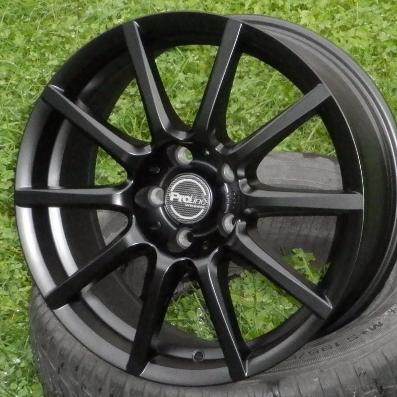 PROLINE CX100 6,5x15 4x108 ET21.00 matt-schwarz