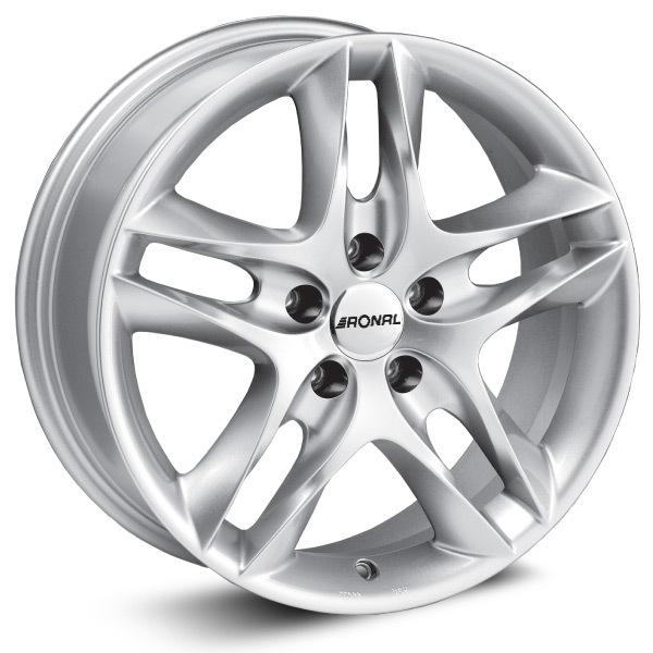 RONAL LZ 5 7,5x16 5x110 ET35.00 silver