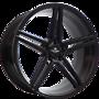 REPLICAS Forzza Bosan 9x20 5x114,3 ET35.00 satin black