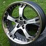 KESKIN KT10 9,5x19 5x100 ET25.00 matt black front polish steel lip