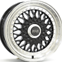 7,0X16 RS601 4/100 ET35 73,1 7x16 4x100 ET35.00 gloss black / polished