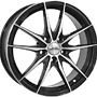 INTER ACTION ZODIAC 7,5x18 5x108 ET45.00 gloss black / polished