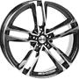 MONACO MC7 10x22 5x112 ET30.00 gloss black / polished