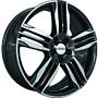 RONAL 10,0X22 RONAL R58 5/120   ET40 CH82 10x22 5x120 ET40.00 black / polished