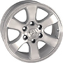 WSP ITALY T1707 7x16 6x139,7 ET15.00 silver polished
