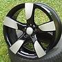WSP ITALY W568 VITTORIA 8,5x19 5x112 ET43.00 glossy black polished