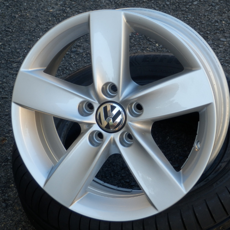 VW NAVARRA ( original VW ) DEMO 6,5x16 5x112 ET50.00 silver