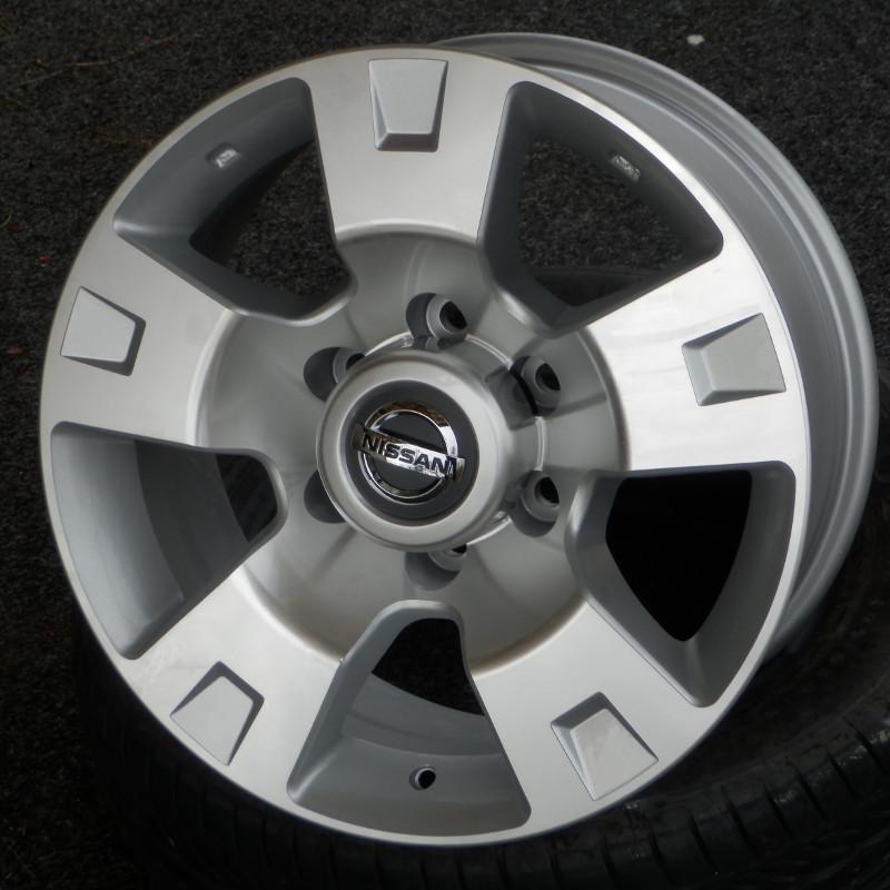 WSP ITALY T1808 8x17 6x139,7 ET10.00 silver polish