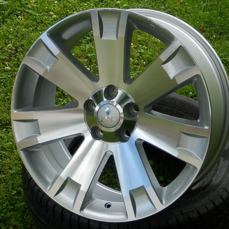 WSP ITALY W3004 POSEIDONE 8x19 5x114,3 ET38.00 silver polished