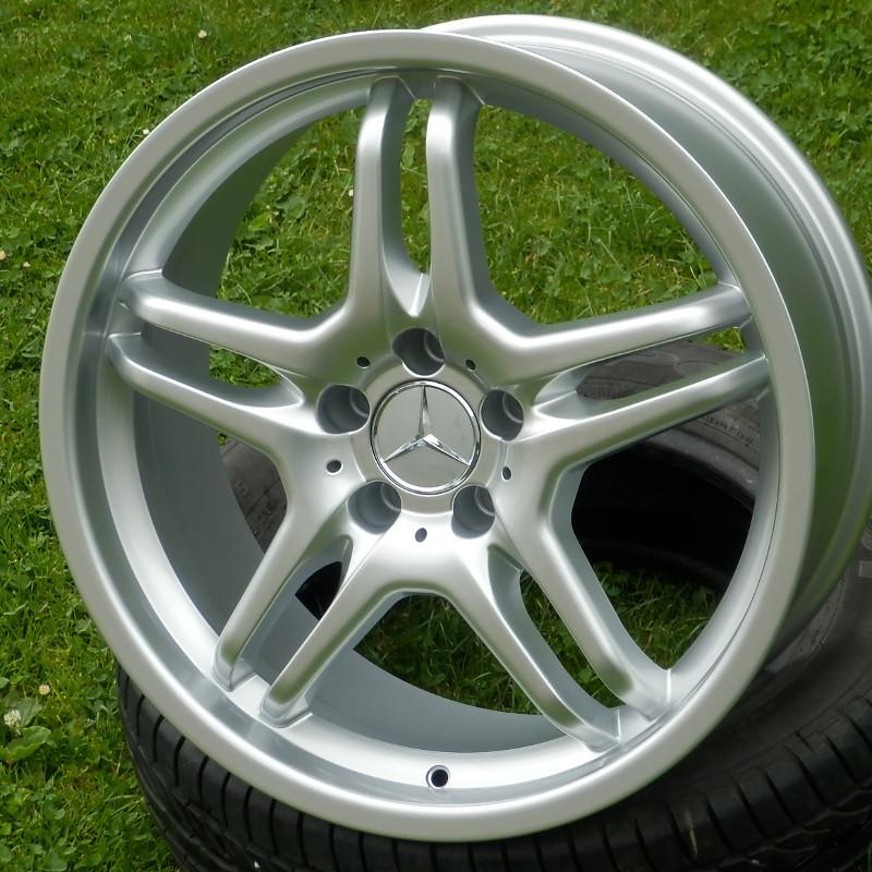 WSP ITALY W726 AMG E55 8x19 5x112 ET30.00 silver