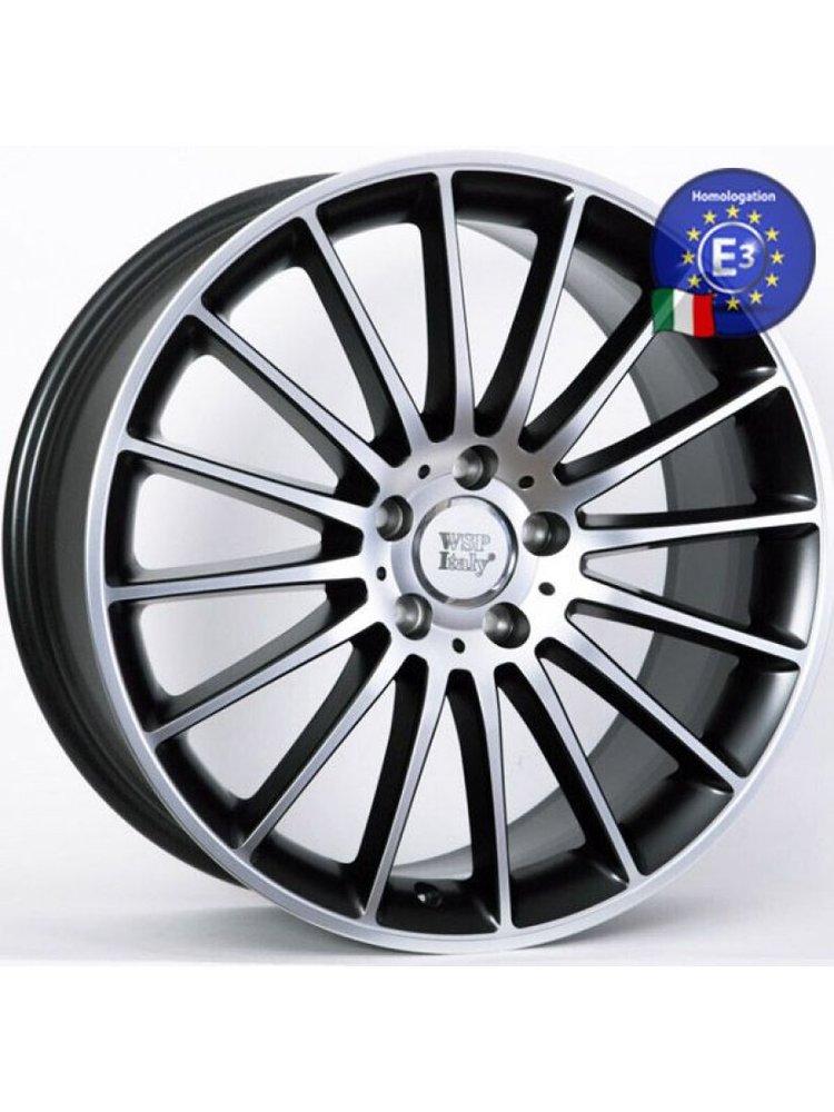 WSP ITALY W773 8,5x19 5x112 ET44.00 dull black f polished