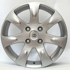 WSP ITALY W3702 AIDA 6x15 4x100 ET43.00 silver