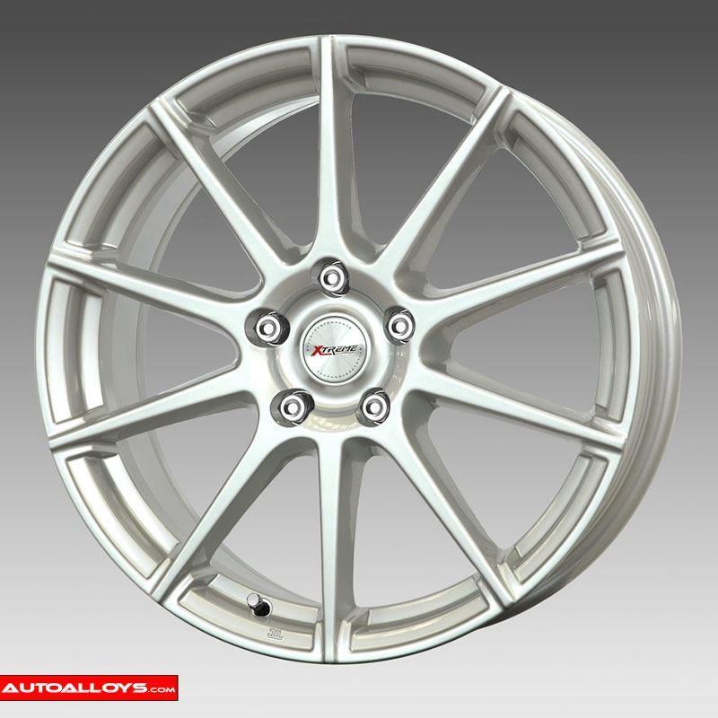 XTREME X3 6,5x15 5x114,3 ET40.00 silver